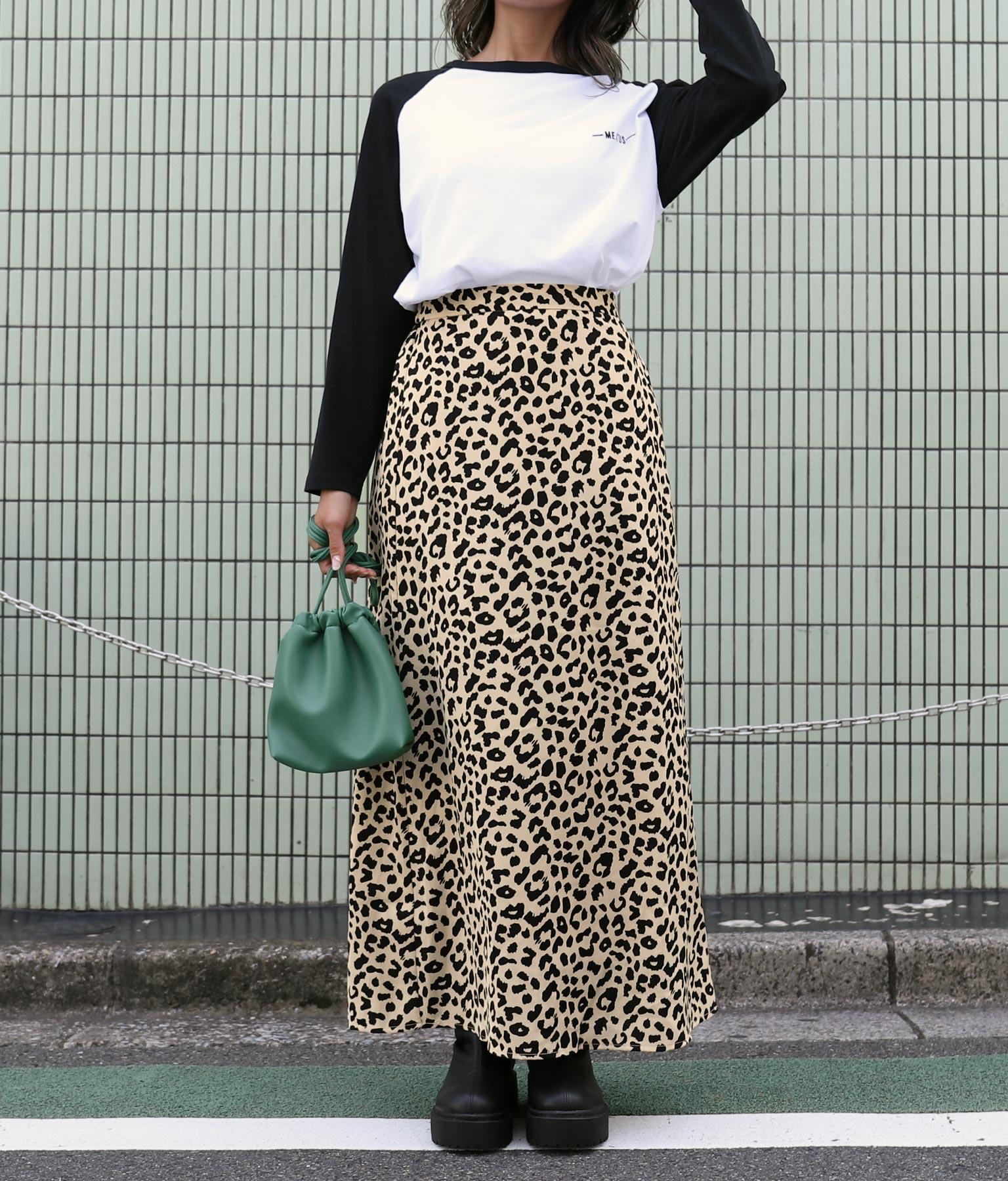 レオパードロングスカート(ボトムス・パンツ /スカート) | anap mimpi