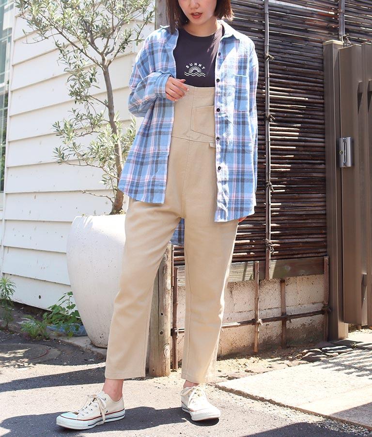 ペールカラーチェックシャツ(トップス/シャツ・ブラウス)   anap mimpi