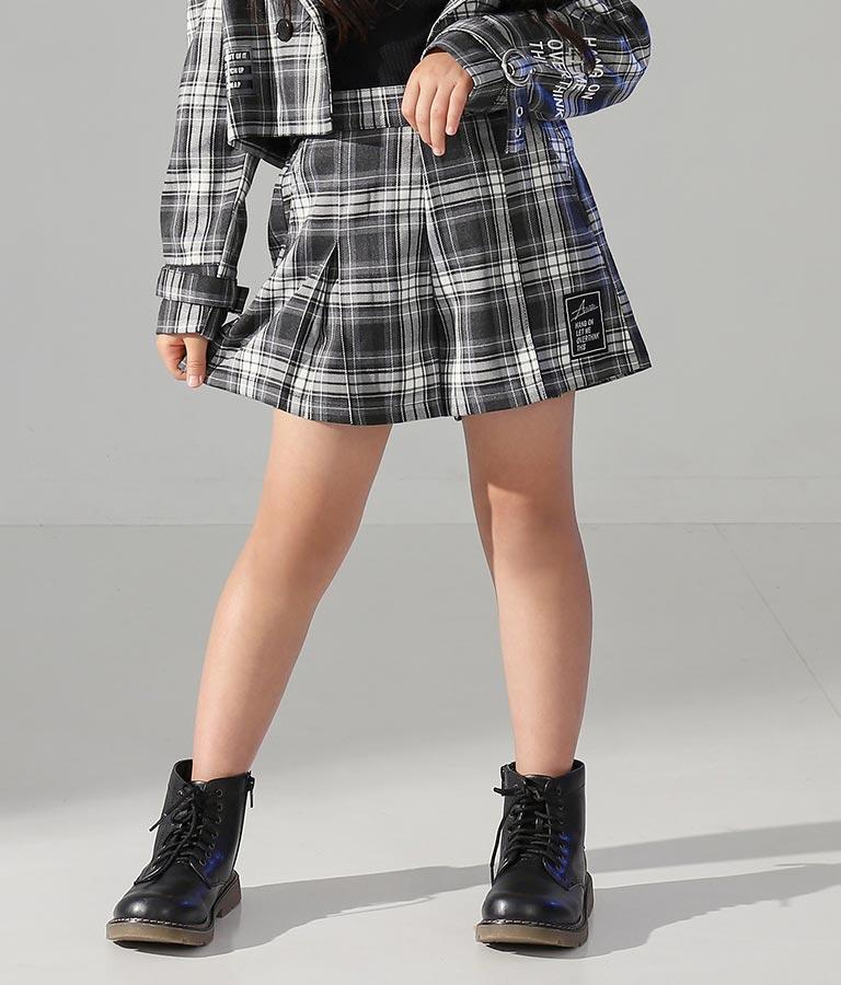 ボックスプリーツキュロットスカート(ボトムス・パンツ /ショートパンツ・スカート) | ANAP KIDS