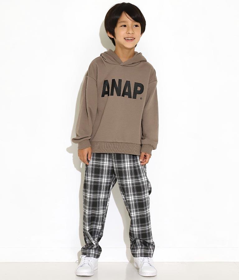 チェックイージーパンツ(ボトムス・パンツ /ロングパンツ) | ANAP KIDS