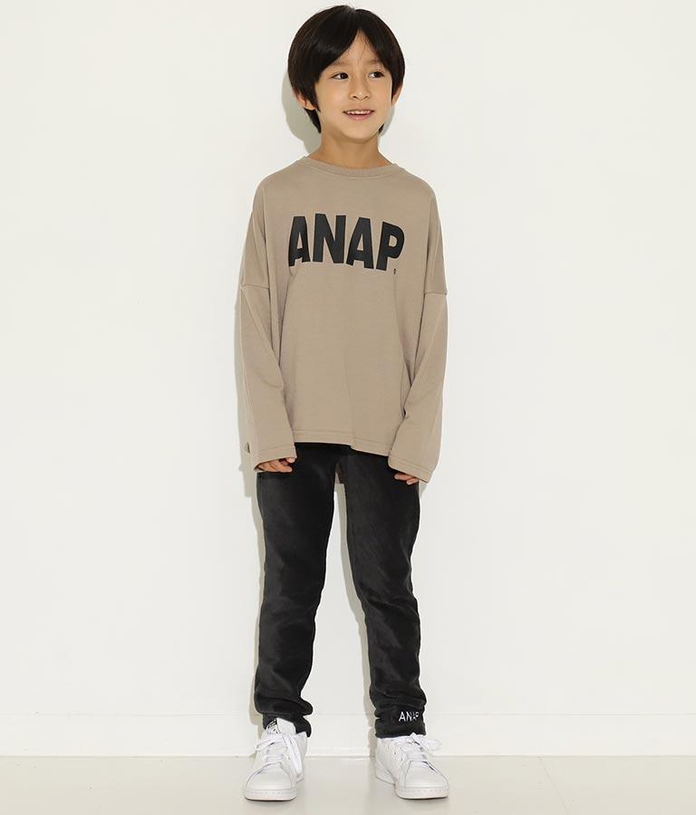 ANAPロゴプリントミニ裏毛トップス(トップス/カットソー ) | ANAP KIDS