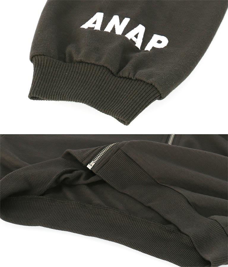 クロップドフードジップパーカー(アウター(コート・ジャケット) /パーカー) | ANAP KIDS