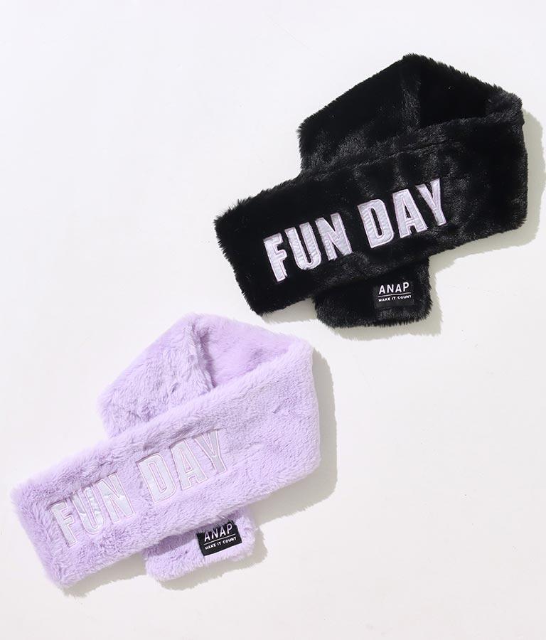 フェイクファーティペット(ファッション雑貨/マフラー・ストール ・スヌード・スカーフ )   ANAP KIDS