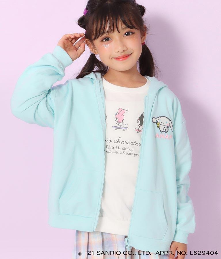 サンリオキャラクターズ耳付きパーカー(アウター(コート・ジャケット) /パーカー) | ANAP KIDS