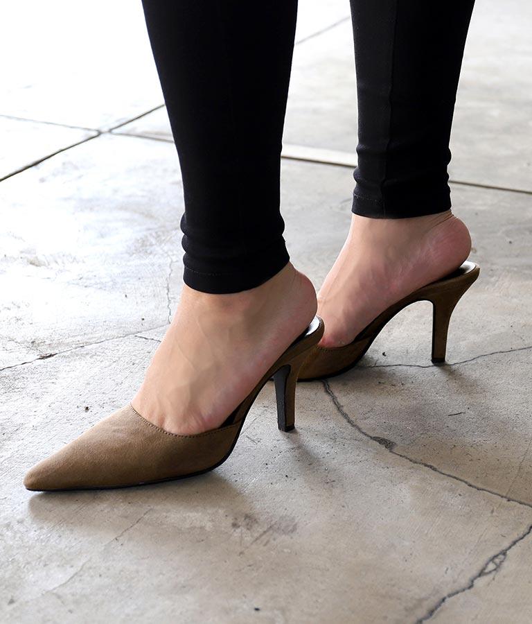エコスエードミュール(シューズ・靴/サンダル・パンプス) | ANAP