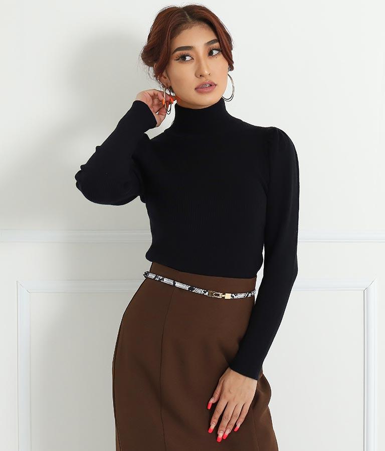 デザインバックル細ベルト(ファッション雑貨/ベルト) | anap Latina