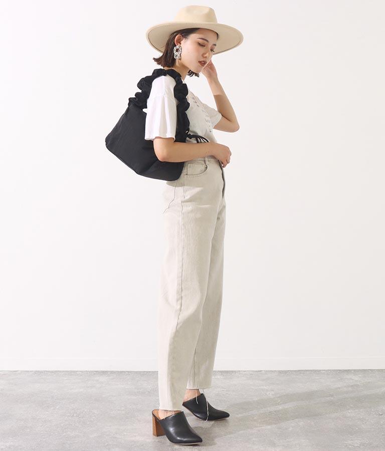 ナイロンドローストリングショルダーバッグ(バッグ・鞄・小物/ショルダーバッグ) | Settimissimo