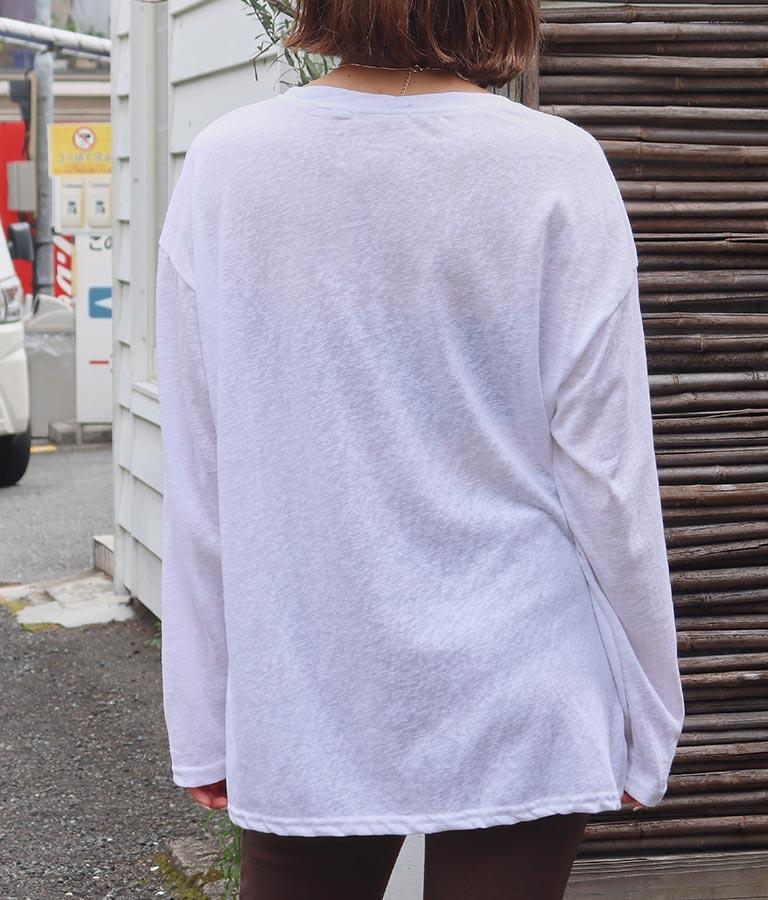 スラブシアートップス(トップス/Tシャツ・カットソー ) | anap mimpi