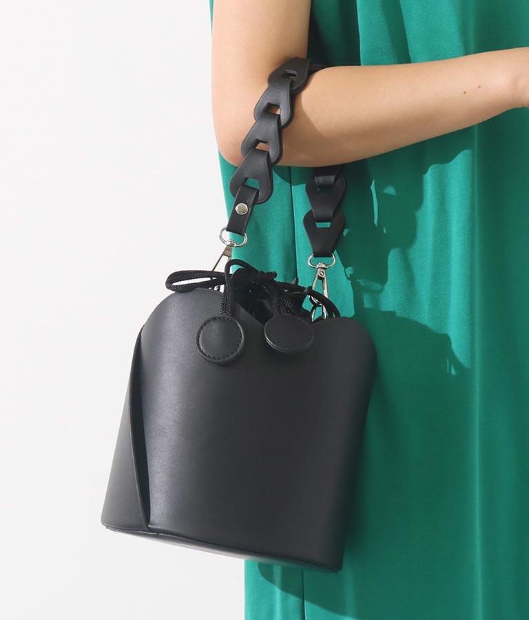 バケツ型巾着2WAYバッグ(バッグ・鞄・小物/ハンドバッグ・ショルダーバッグ) | Settimissimo