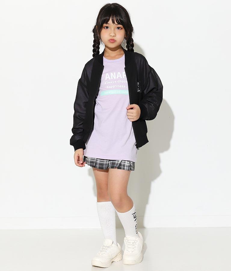 制菌チェリーリブハイソックス(ファッション雑貨/ソックス・靴下)   ANAP KIDS