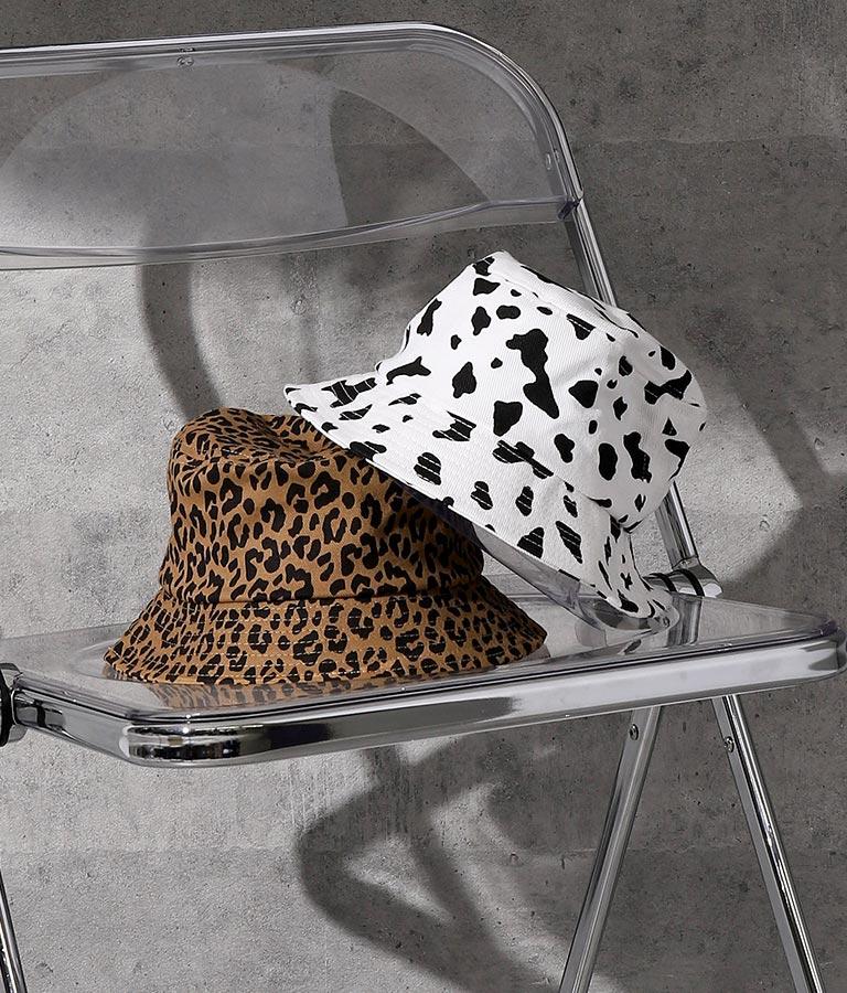 アニマル柄バケットハット(ファッション雑貨/ハット・キャップ・ニット帽 ・キャスケット・ベレー帽)   ANAP