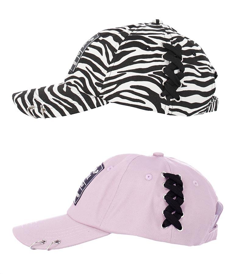 サイドスピンドルリング付キャップ(ファッション雑貨/ハット・キャップ・ニット帽 ・キャスケット・ベレー帽)   ANAP GiRL