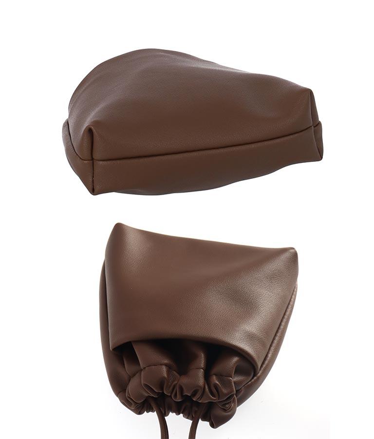 エコレザー巾着バッグ(バッグ・鞄・小物/ショルダーポシェット)   anap mimpi
