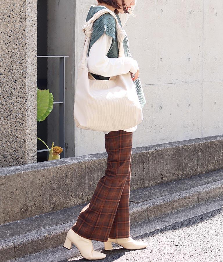 コーデュロイトートバッグ(バッグ・鞄・小物/トートバッグ)   anap mimpi