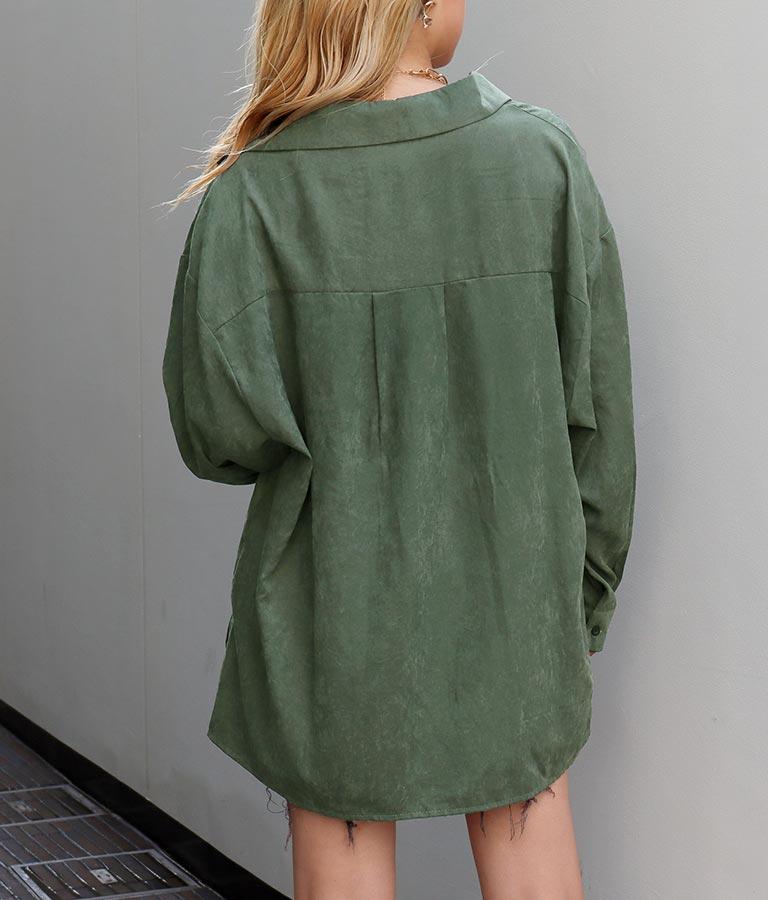 ピーチスキンオーバーサイズシャツ(トップス/シャツ・ブラウス)   ANAP