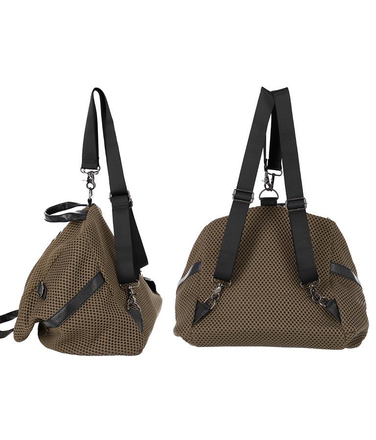 ボンディングメッシュ3WAYバッグ(バッグ・鞄・小物/バックパック・リュック・ショルダーバッグ・トートバッグ) | Settimissimo