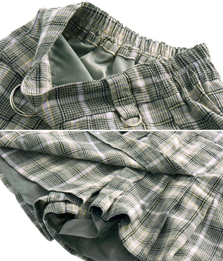 チェック柄デザインスカパン(ボトムス・パンツ /ショートパンツ・スカート) | ANAP GiRL