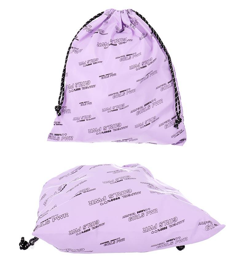 配色ボストンバッグ巾着付(バッグ・鞄・小物/バックパック・リュック・トートバッグ)   ANAP GiRL